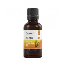 OstroVit TeaTree Natural Essential Oil 30 ml Reduce imperfectiunile tenului si ale pielii si previne aparitia altora noi, regene