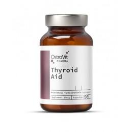 OstroVit Pharma Thyroid Aid 90 Capsule Susinte sanatatea glandei tiroide, sprijină un metabolism sănătos, ajută la menținerea gr