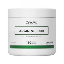 OstroVit Supreme Capsules Arginine 1000 mg 150 Capsule Beneficii Arginina: creste nivelul de Oxid Nitric, creste vascularizarea