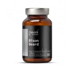OstroVit Pharma Bison Beard 60 Capsule Beneficii OstroVit Pharma Bison Beard: susține menținerea părului, a unghiilor și a pieli