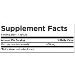 Swanson Full Spectrum Mucuna Pruriens 400 mg 60 capsule prospect
