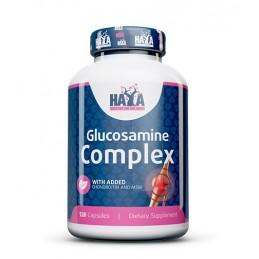 Haya Labs Glucozamina Condroitina & MSM Complex 120 de capsule