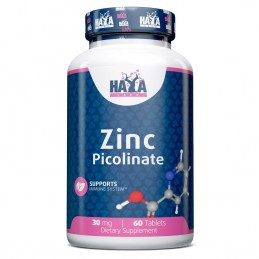 Haya Labs Zinc Picolinat 30 mg 60 Capsule (Sanatate prostata, imunitate)