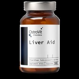 OstroVit Pharma Liver Aid, Ficat Sanatos, 90 Capsule