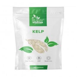 Raw Powders, Kelp 150mcg, 90 tablete Beneficii Kelp: ajuta la reglarea glandei tiroide, mentine starea de sanatate, este o sursa