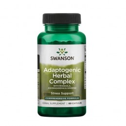Swanson Rhodiola Ashwagandha Ginseng Adaptogenic Complex 60 Capsule Beneficii Astragalus: intareste sistemul imunitar, reduce in