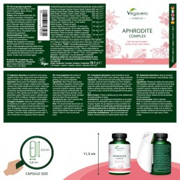 Vegavero Aphrodite Complex, 120 Capsule Beneficii Vegavero Aphrodite Complex: cresterea fluxului sanguin in zona pelviana; sprij
