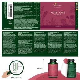 Vegavero Kidney Care Complex, 180 Capsule Beneficii Kidney Care Complex: bogat intr-o varietate de antioxidanti valorosi si alti