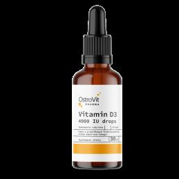 Ostrovit Pharma Vitamina D3 4000 IU lichida picaturi 30 ml Beneficii Pharma Vitamin D3: poate imbunatatii imunitatea, reduce pro