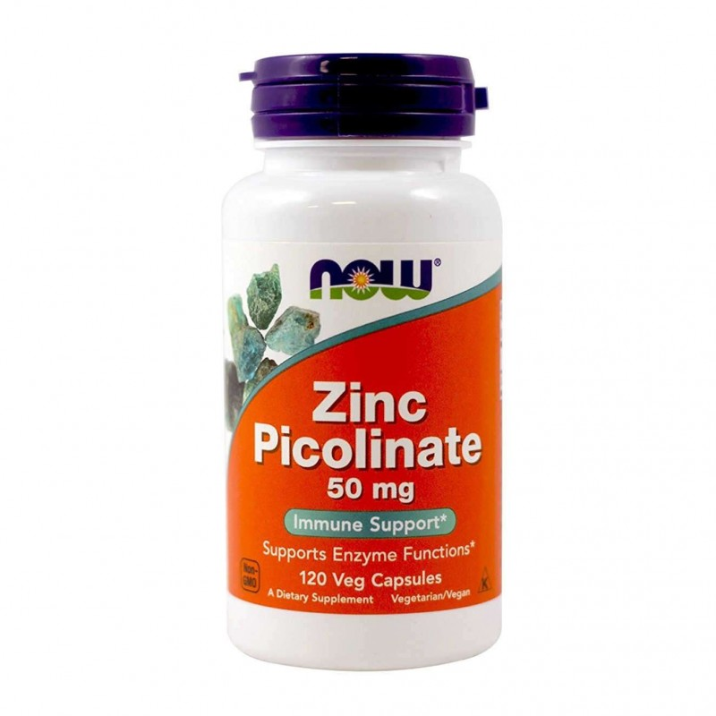 Now Foods Picolinat de Zinc, 50 mg, 60 Capsule  Beneficii Picolinat de Zinc: efect antioxidant puternic; hraneste pielea si paru
