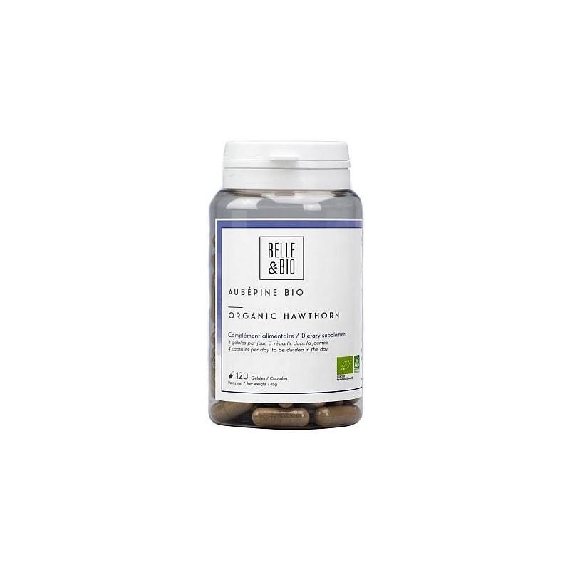 Belle&Bio Aubepine Bio, Paducel Organic, 120 gelule Beneficii Paducel Organic: reducerea riscului de aparitie a afectiunilor car
