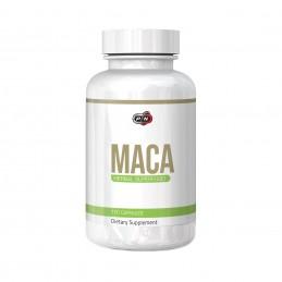 Pure Nutrition USA Maca 750 mg 100 Capsule (Afrodisiac, libidou, menopauza) Beneficii Maca: stimuleaza libidoul la ambele sexe,