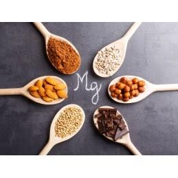 Pure Nutrition USA Magneziu lichid 500 ml Beneficii Magneziu: regleaza tensiunea arteriala, combate migrenele, combate depresia