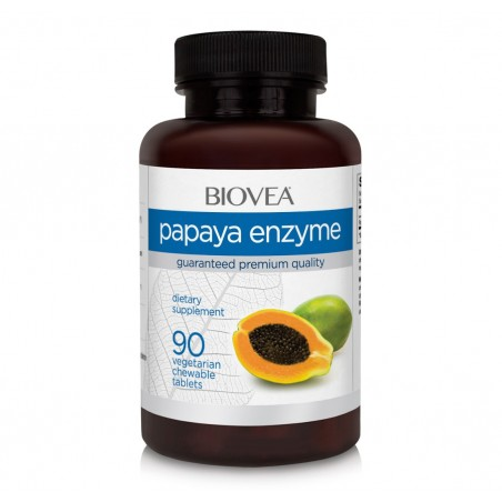 PAPAYA ENZYME 500mg 90 Tablete masticabile