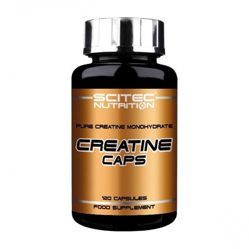 Creatine Caps 120 Capsule, SCITEC NUTRITION, Creatina Capsule, pret, pareri, doze, prospect, efecte