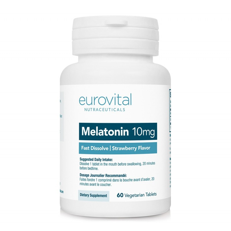 MELATONINA 10mg (Dizolvare rapida) 60 Tablete