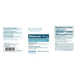MELATONINA 10mg (Dizolvare rapida) 60 Tablete Beneficii Melatonina: Promovează modele de somn sanatos, poate ajuta la combaterea