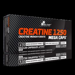 Creatine Mega Caps 1250, 30-120-400 Capsule, Olimp