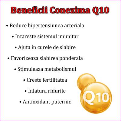 Beneficii Coenzima Q10