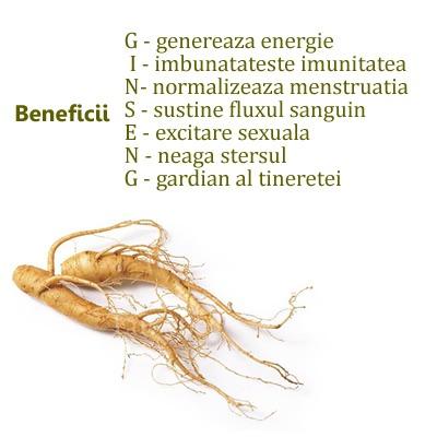 Beneficii Ginseng Rosu