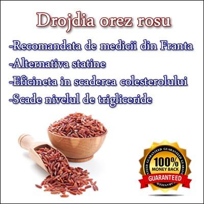 Cum tratam colesterolul mare cu drojdie de orez rosu