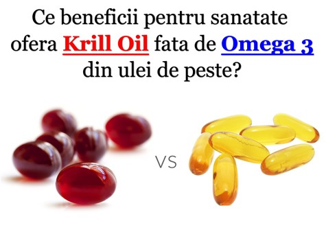 Ulei de krill vs Ulei de peste