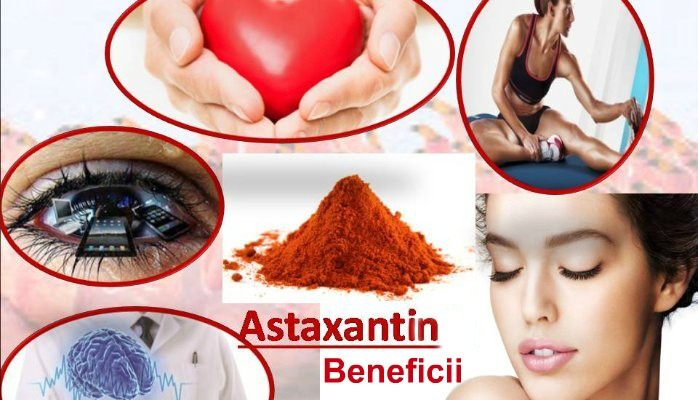 Beneficii Astaxantina
